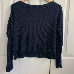 Navy blue Hollister Sweater